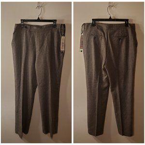 NWT Ralph Lauren Houndstooth Dress Pants Size 15